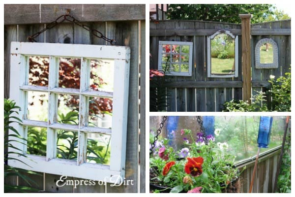 Creatives Ways to Use Mirrors in the Garden