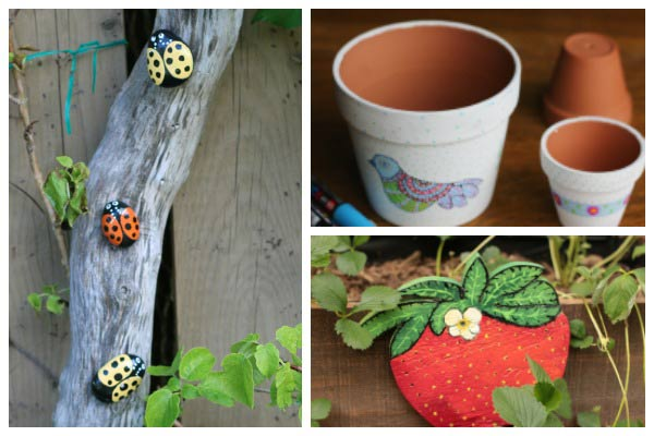 Hand-Painted Garden-Inspired Craft & DIY Projects