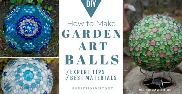 How to Make Decorative Garden Art Balls | Expert Tips