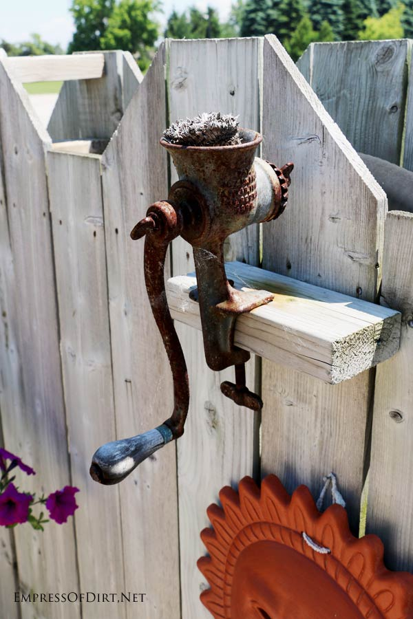Simple If you have an garden fence or wall there is an outdoor art gallery waiting