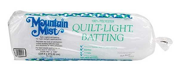 Mountain Mist quilt batting