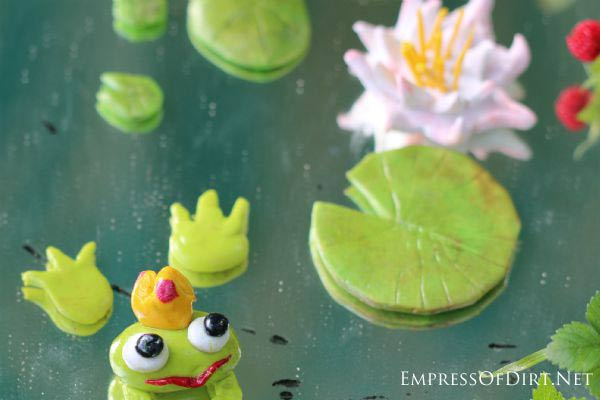 Diy Miniature Fairy Garden Pond Charms With Polymer Clay