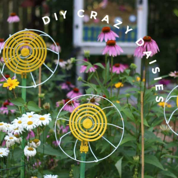 Garden art daisy.