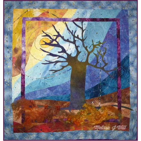 Tree quilt by Melissa J Will