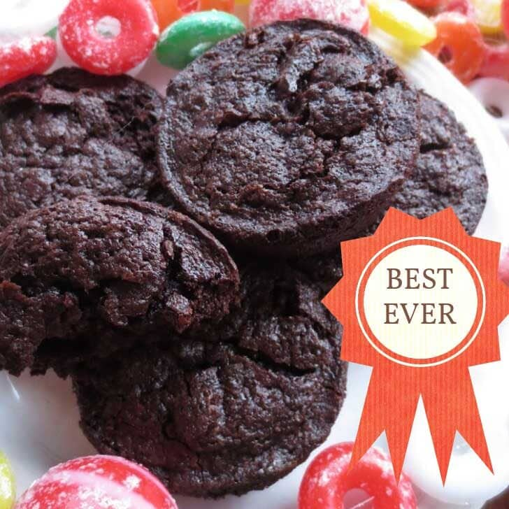 The world's best chocolate brownies.