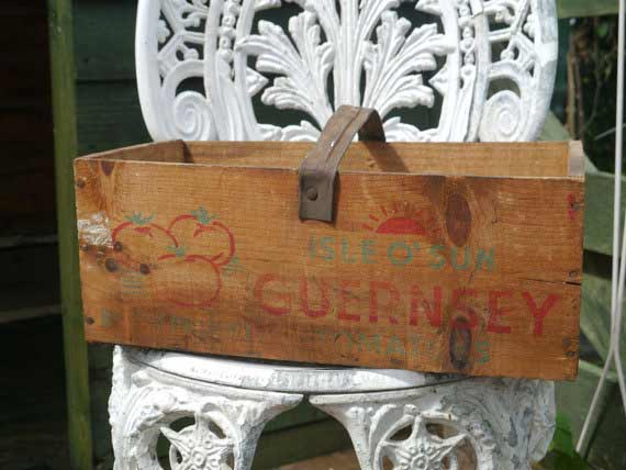 Vintage Wood Crate - MrGLovesMissB Etsy Shop